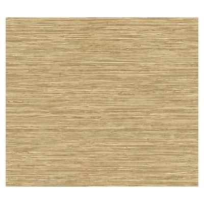 Allen Roth Tan Grass Cloth Wallpaper At Lowes Com