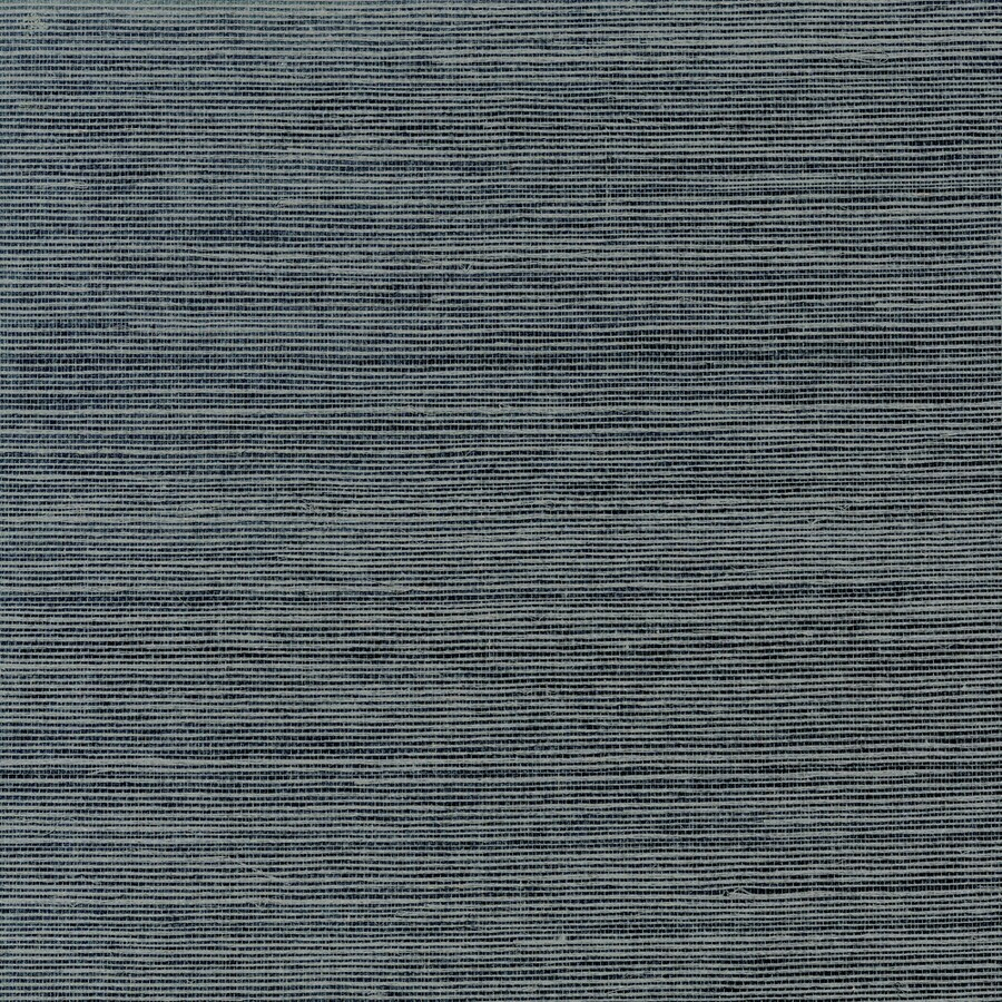 Allen + Roth Charcoal Grasscloth Unpasted Textured