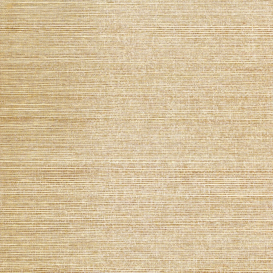 Allen + Roth Gold And Cream Grasscloth Unpasted Textured