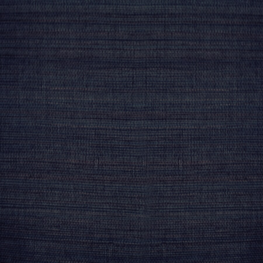 Grasscloth Walls: Shop Allen + Roth Navy Blue Grasscloth Unpasted Textured
