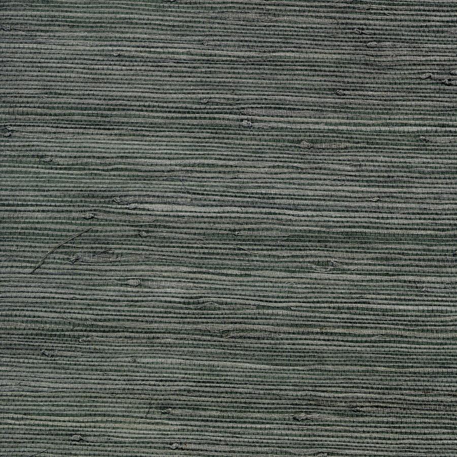 Allen Roth Dark Grey Grcloth Unpasted Textured Wallpaper