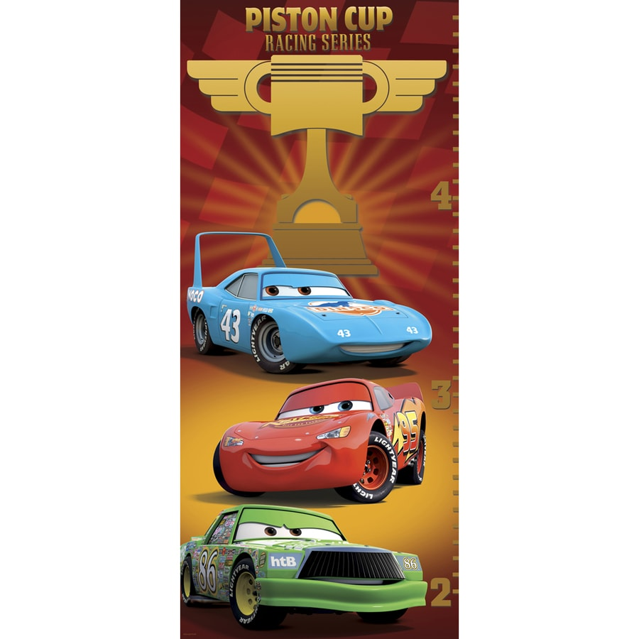 Shop disney multi colored cars growth chart at lowes disney multi colored cars growth chart nvjuhfo Image collections
