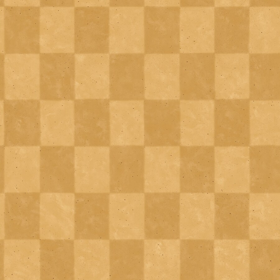 IMPERIAL Gold Checkerboard Wallpaper
