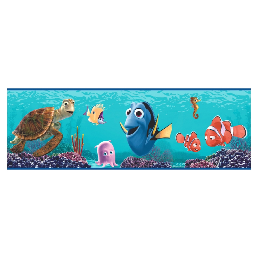 Shop Imperial Finding Nemo Wallpaper Border At Lowes Com