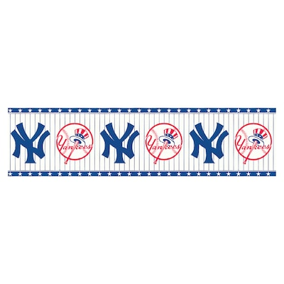 Sanitas Ny Yankees Wallpaper Border At Lowes Com