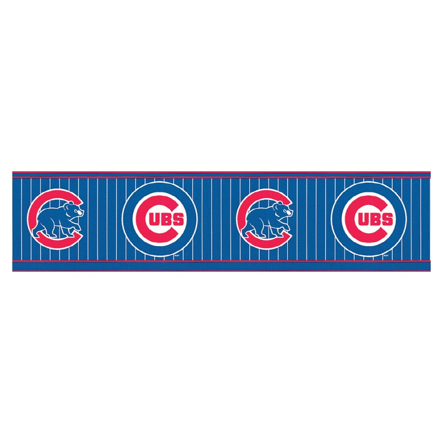 Sanitas Chicago Cubs Wallpaper Border