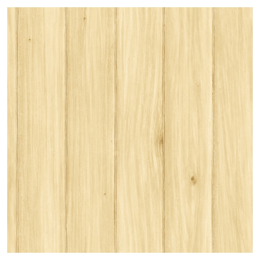 Shop imperial faux wood paneling wallpaper at lowes