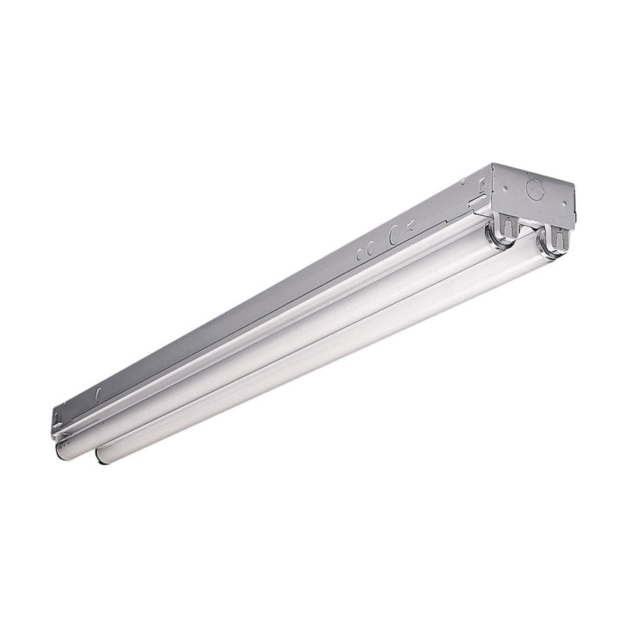 4 Strip Light Shop shop lights at lowes metalux snf series strip shop light common 4 ft actual 275 audiocablefo
