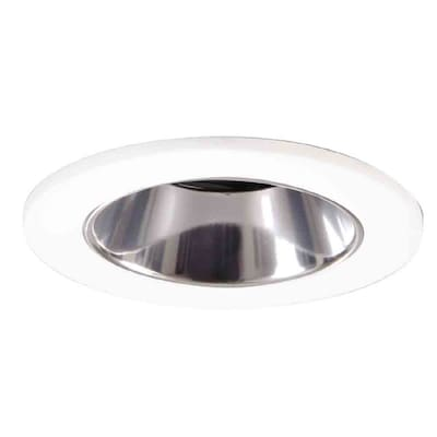 All Pro 6 In White Recessed Lighting Trim At Lowes