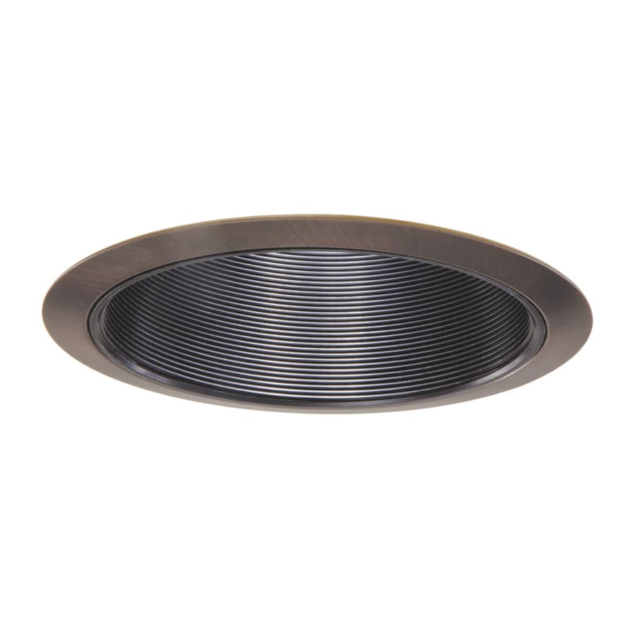 Halo Tuscan Bronze Baffle Recessed Light Trim Fits Housing Diameter 6 In