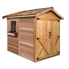 Nice Cedarshed (Common: 6 Ft X 12 Ft; Interior Dimensions: 5.33