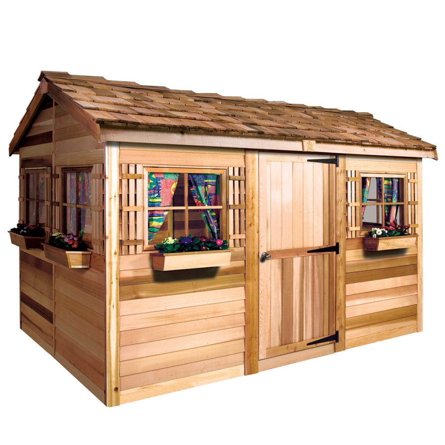 Shop cedarshed beachhouse gable cedar wood storage shed for Outdoor wood shed