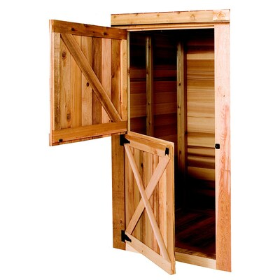 Cedarshed Cedar Door Storage Shed