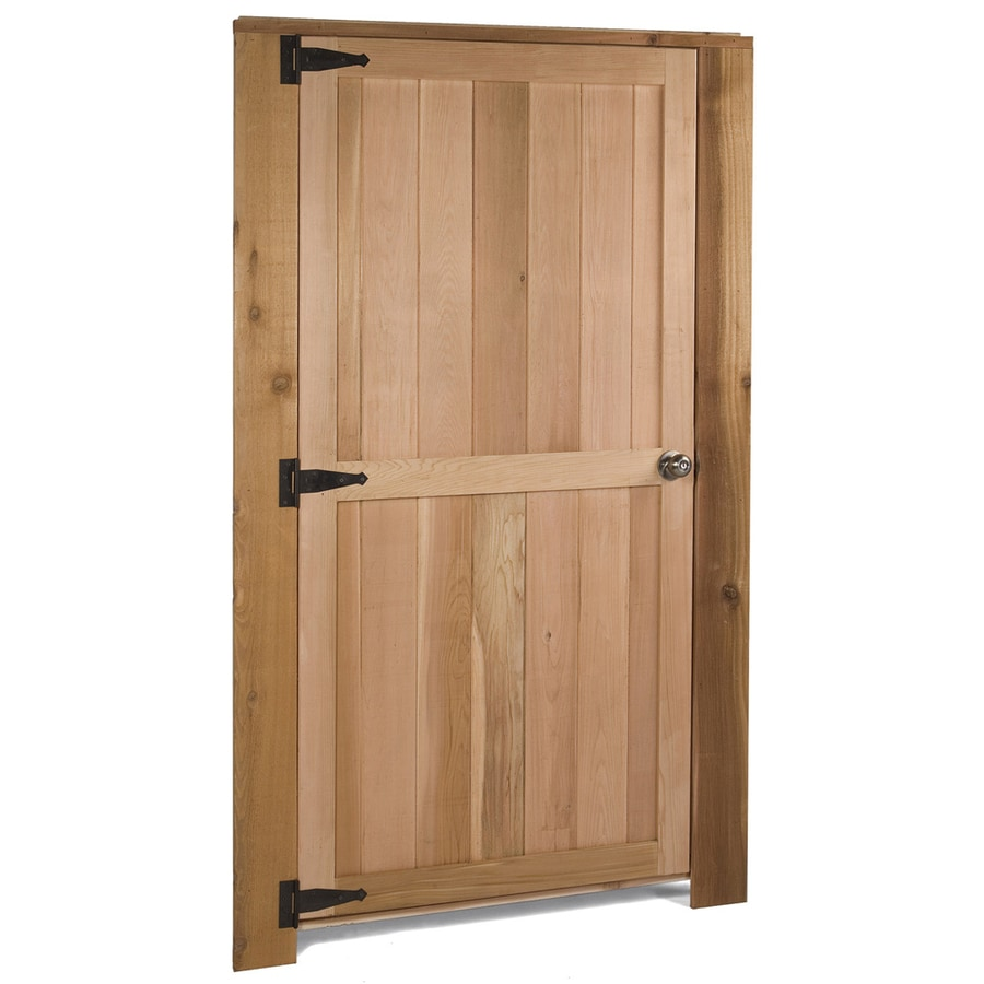 Cedarshed Cedar Storage Shed Door