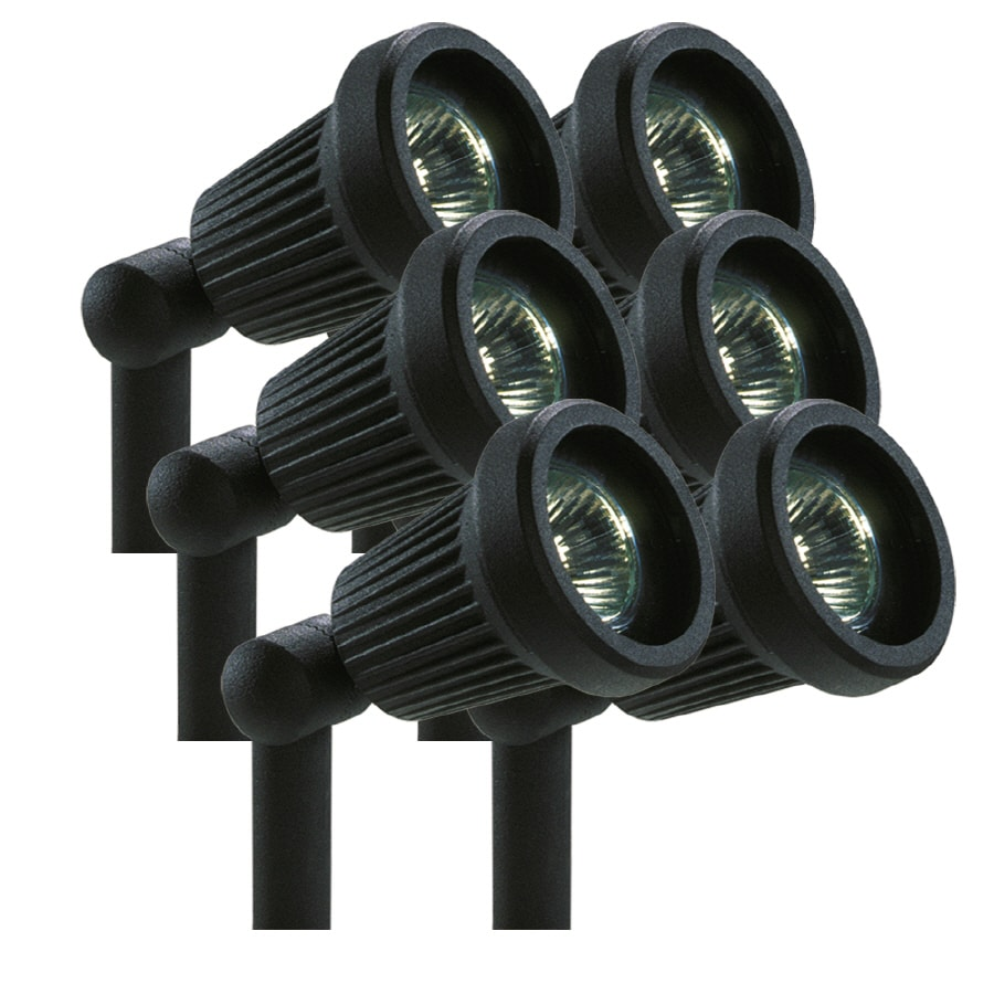 Portfolio Black Low Voltage 20-Watt (25W Equivalent) Halogen Spot Light  sc 1 st  Loweu0027s : low voltage spot lights - azcodes.com