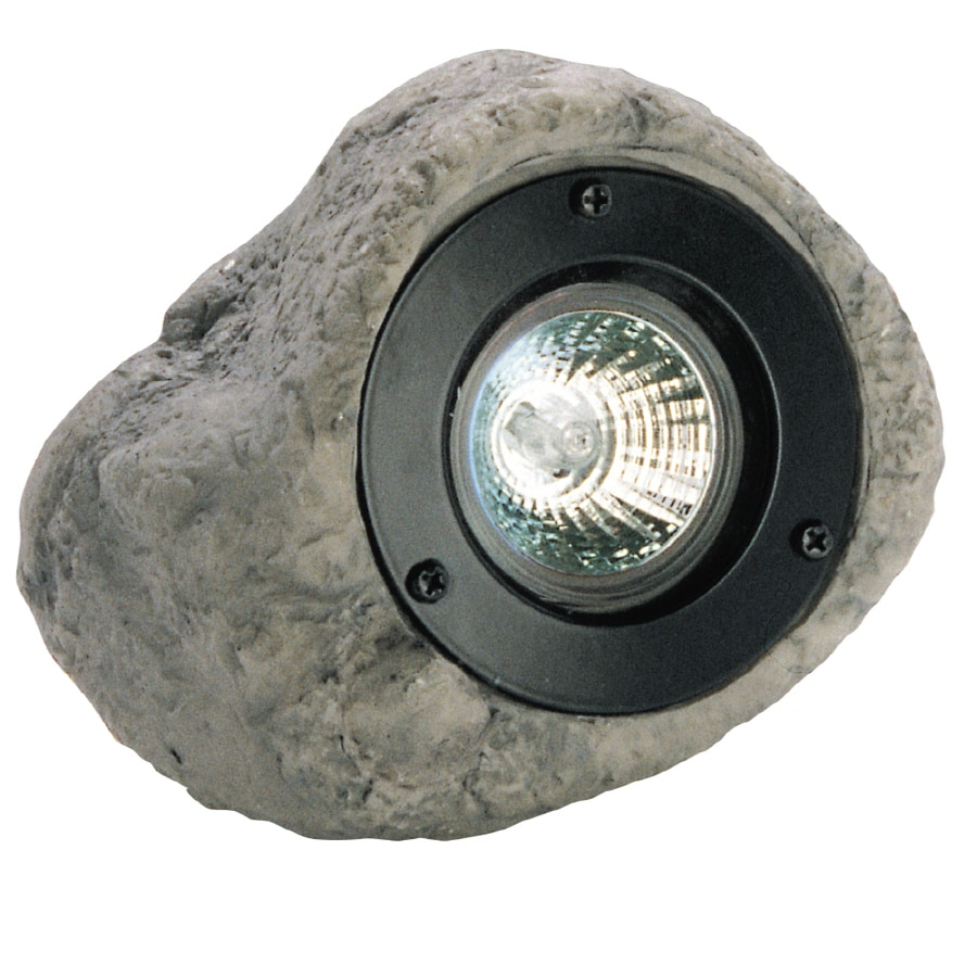 Portfolio Gray Low Voltage 20-Watt (25W Equivalent) Halogen Spot Light