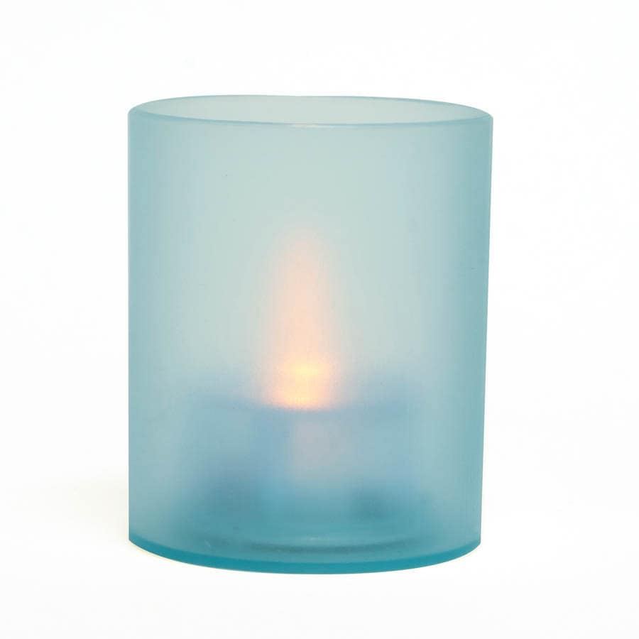Inglow 2.36-in Assorted Indoor/Outdoor Battery-Operated LED Blue Electric Tea Light Candle