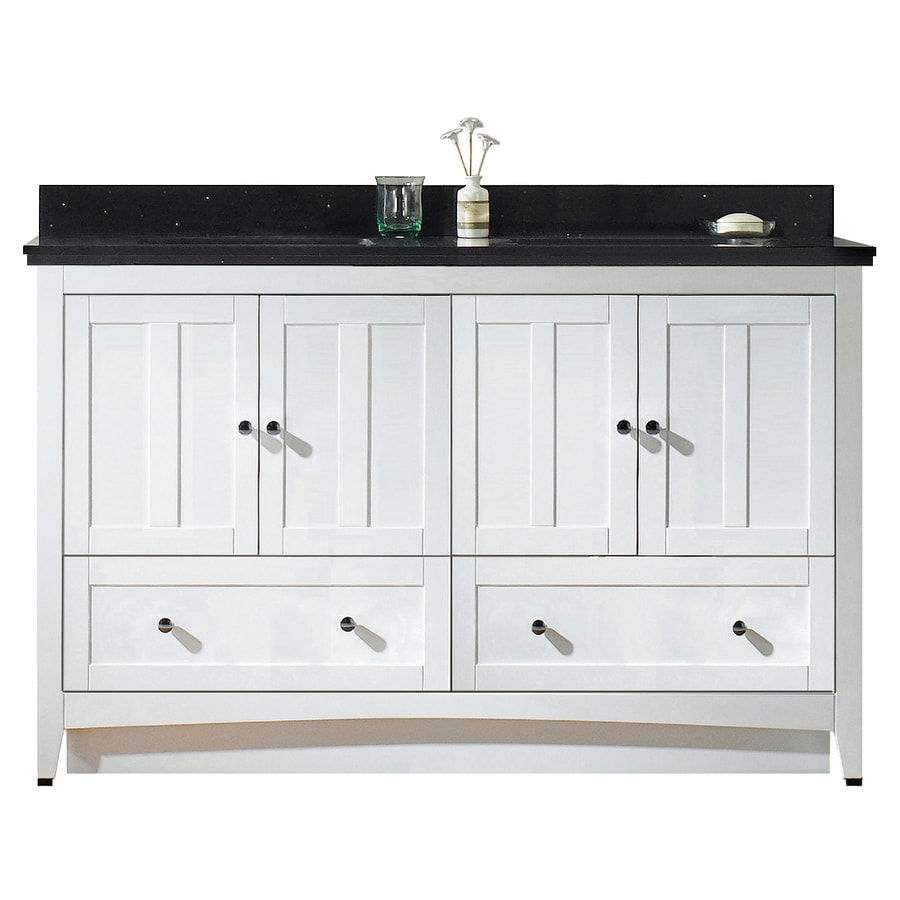 American Imaginations Shaker 59 In Whitelacquer Paint Single Sink