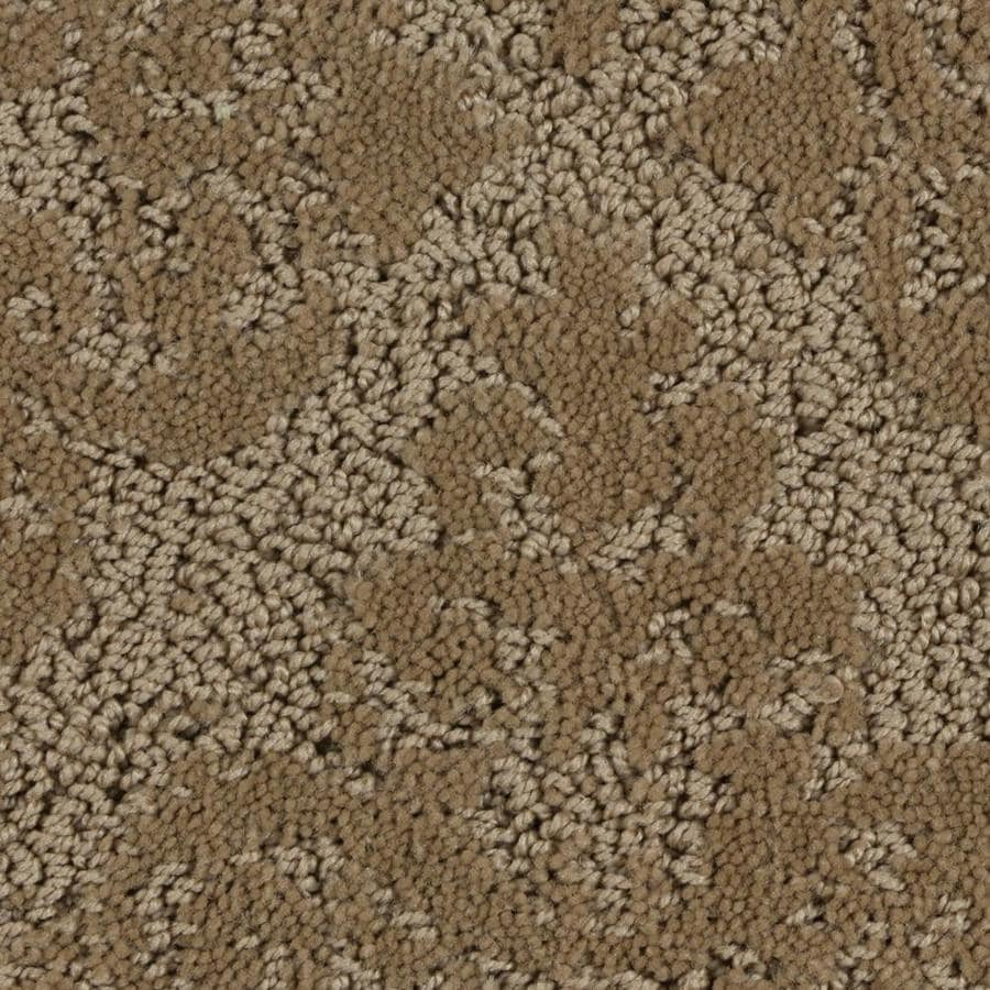 STAINMASTER PetProtect 12-ft W x Cut-to-Length 08 Brownie Pattern Interior Carpet
