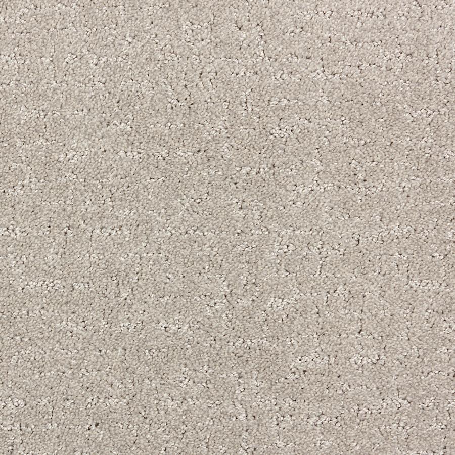 STAINMASTER PetProtect Treviso North American Grey Cut and Loop Indoor Carpet