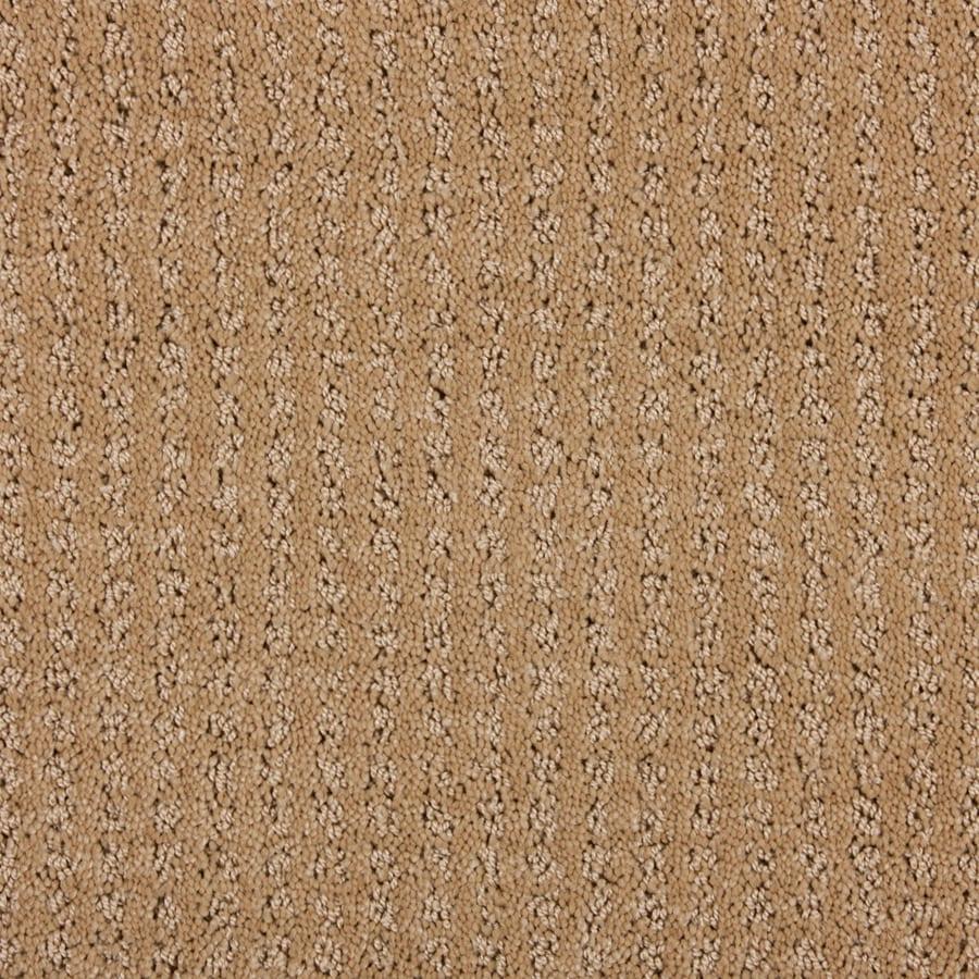 STAINMASTER PetProtect Sardi Special Beige Cut and Loop Indoor Carpet