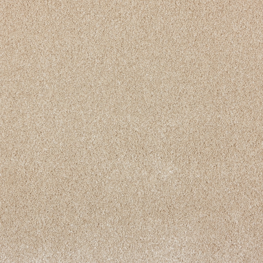 STAINMASTER PetProtect Wembley Provincial White Plush Interior Carpet