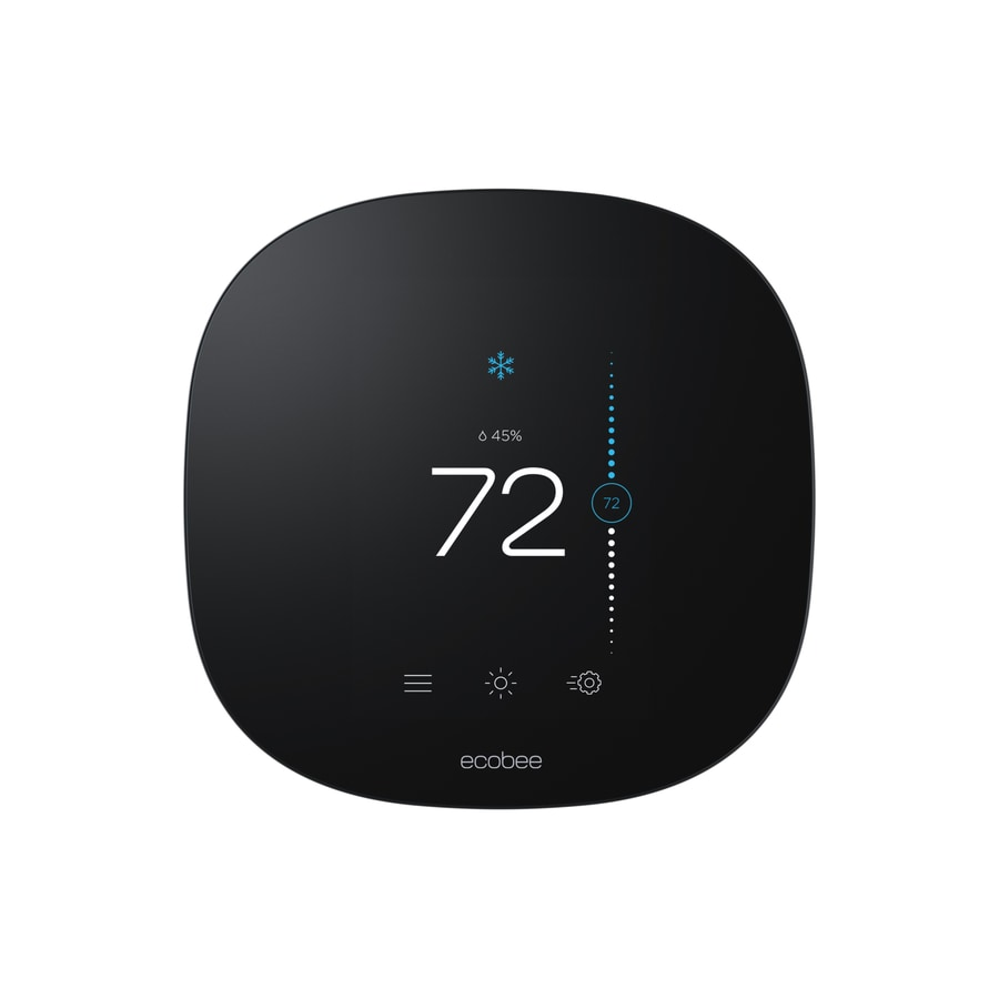ecobee Black 3 Lite Thermostat with Wifi compatibility
