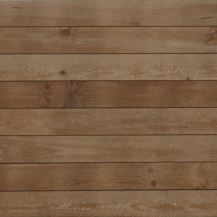 Timberwall Shiplap 12.9-sq ft Brown Wall Plank Kit