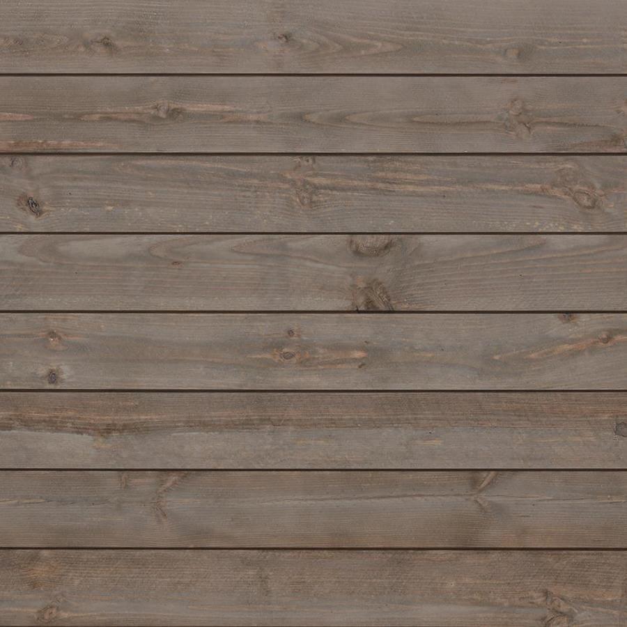 Timberwall Shiplap 12.9-sq ft Grey Wall Plank Kit