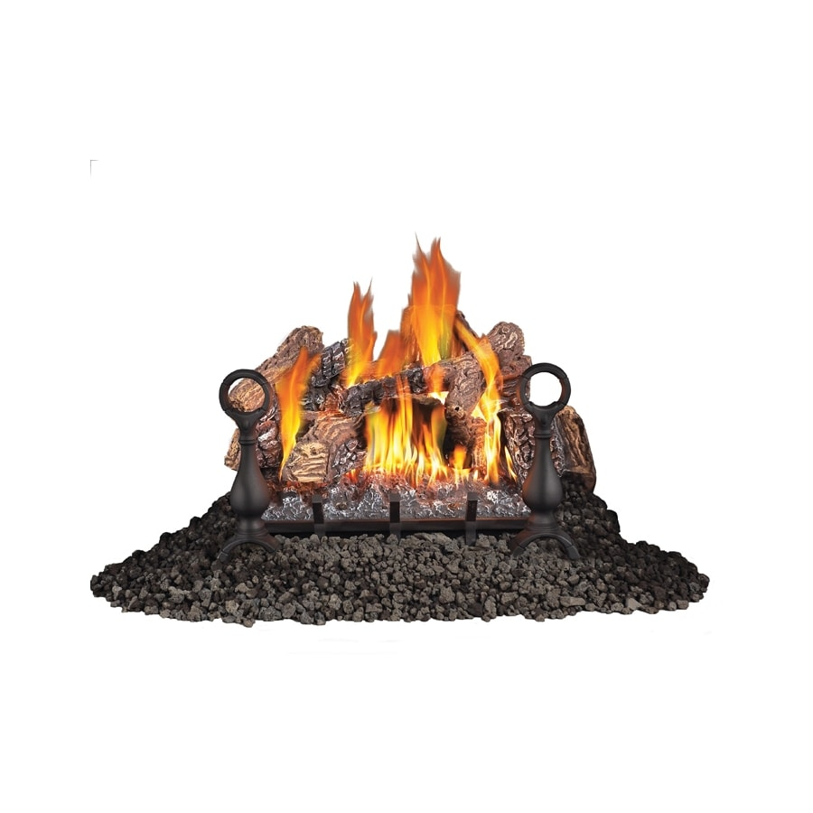Napoleon Products 20.375-in 55,000-BTU Single-Burner Vented Gas Fireplace Logs