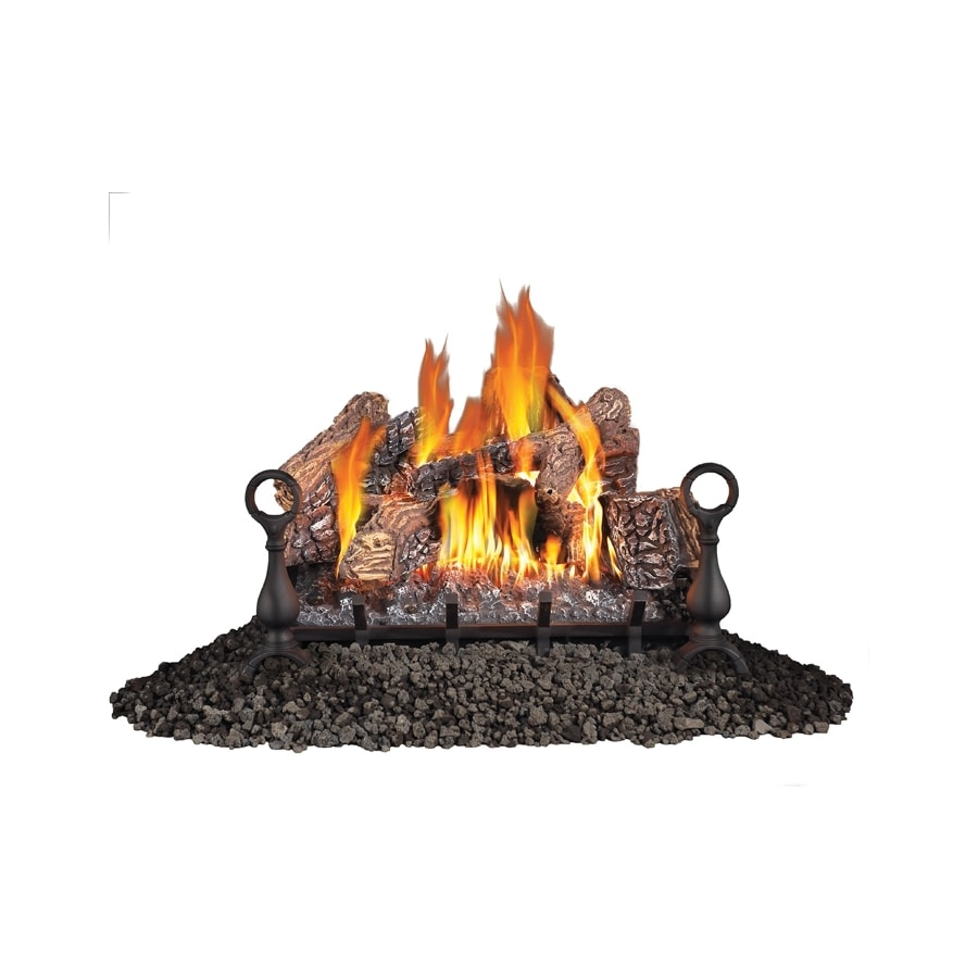 Napoleon Products 26-in 60,000-BTU Single-Burner Vented Gas Fireplace Logs