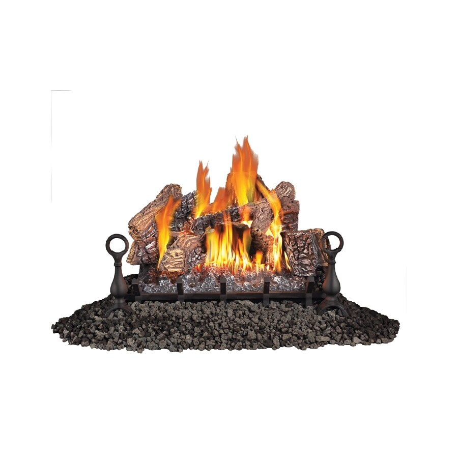 Shop Napoleon Products 30 In 65 000 Btu Single Burner Vented Gas Fireplace Logs At