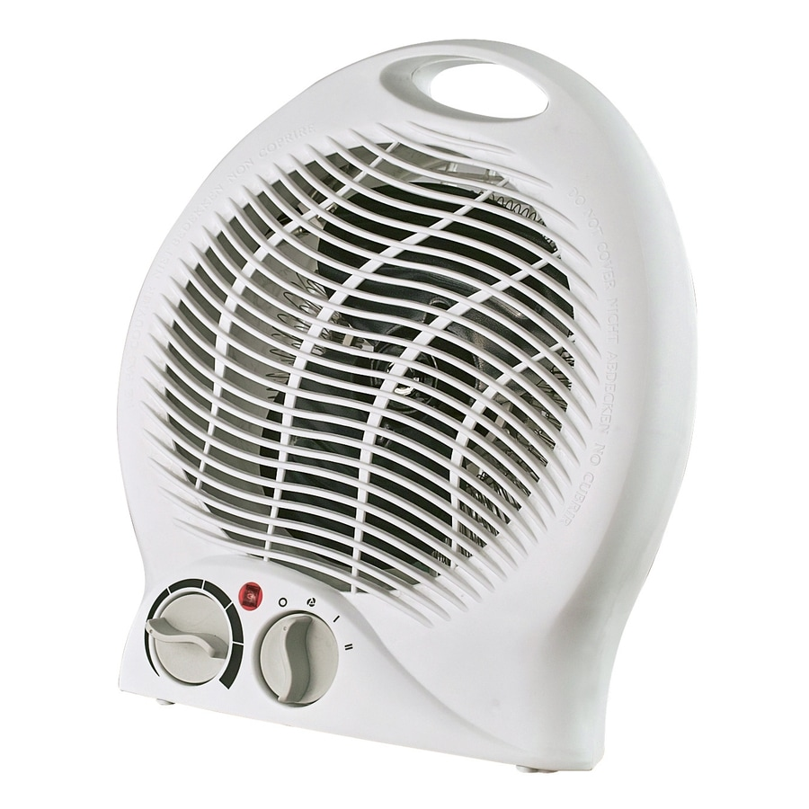 Utilitech 5,118-BTU Fan Compact Personal Electric Space Heater with Thermostat