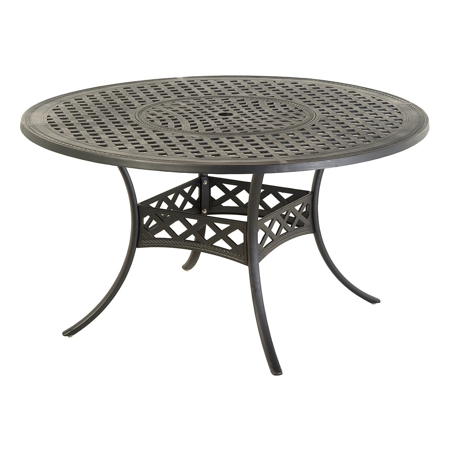 allen + roth Whitley Place Round Dining Table