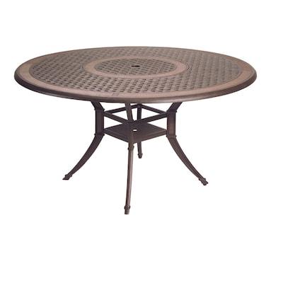 Herrington 54 Cast Aluminum Round Patio Dining Table