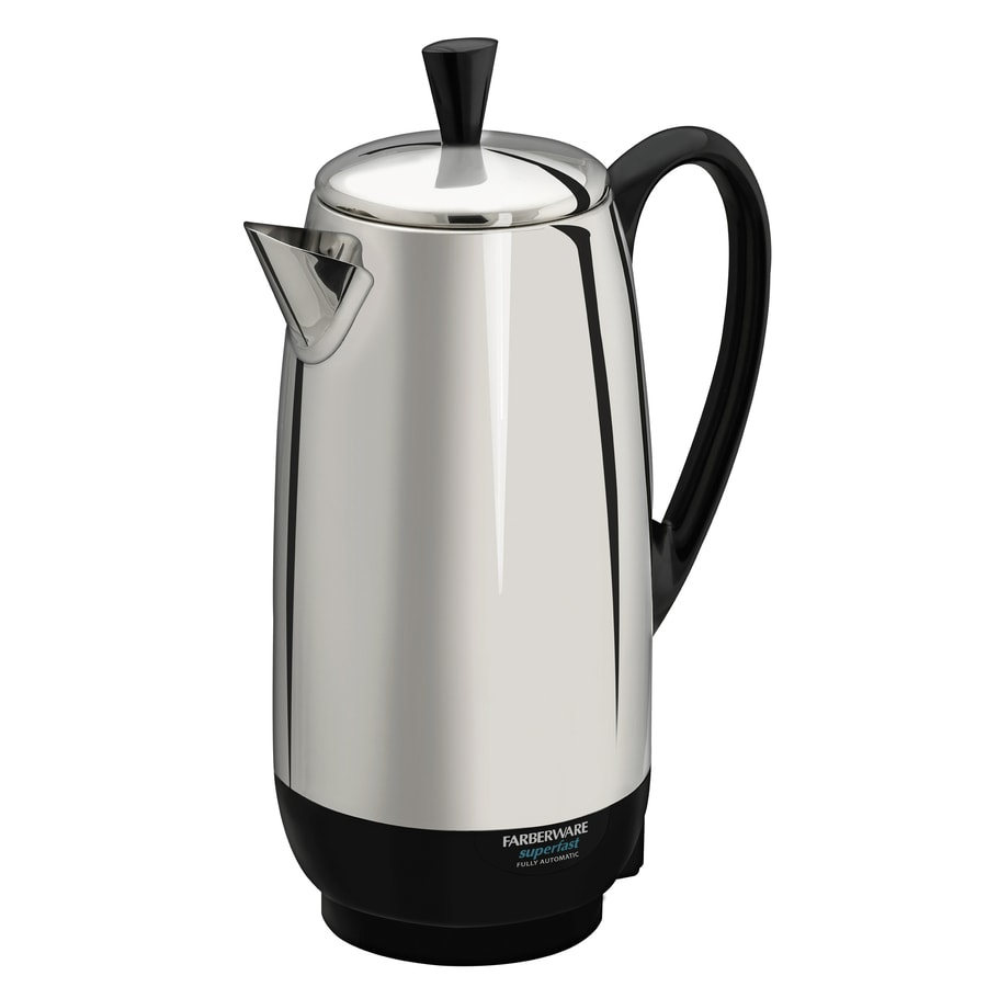 Shop Farberware Stainless Steel 12-Cup Percolator at Lowes.com