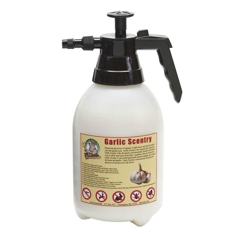 Just Scentsational Garlic Scentry 64-fl oz Organic Pest Repellent