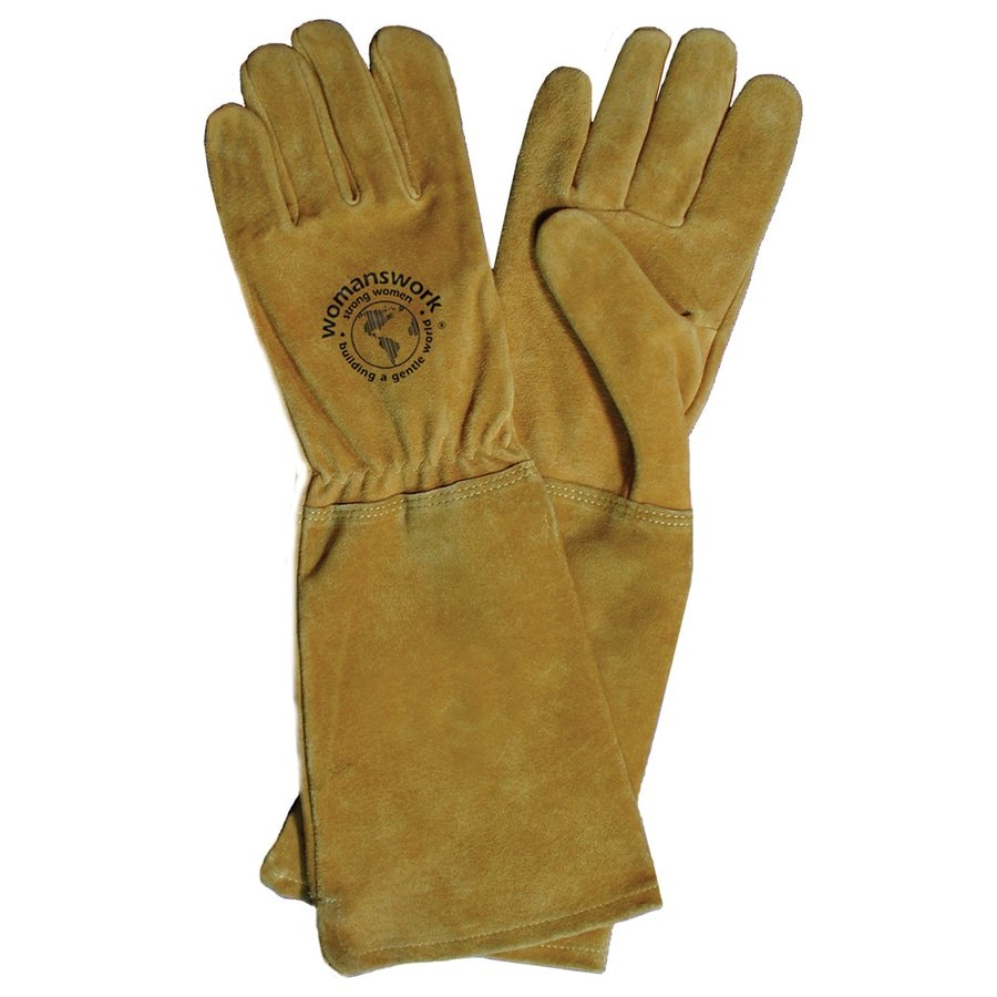 Womanswork Medium Rose Gauntlet Garden Gloves