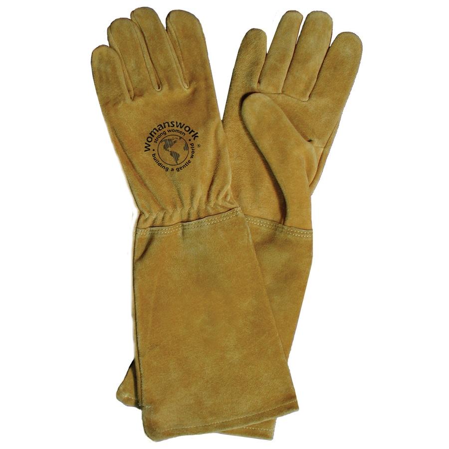 Captivating Womanswork Medium Rose Gauntlet Garden Gloves