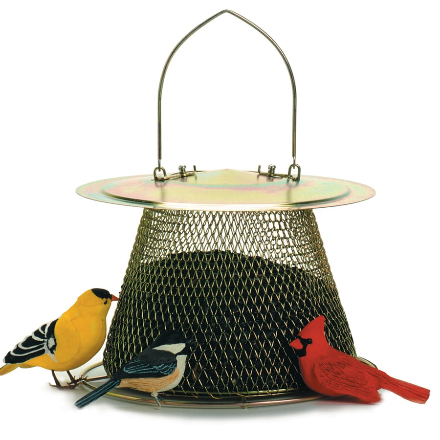 No/No Wild Bird Feeders Feeder with Extended Foof