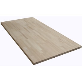The Baltic Butcher Block 6 Ft Natural Straight Butcher Block Birch Kitchen  Countertop