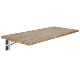 Sparrow Peak Sparrow peak quick bench 4-ft Natural Wood, Uv Straight Butcher Block Birch Kitchen Countertop