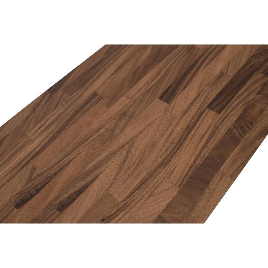 4.0-ft Natural Straight Butcher block Kitchen Countertop at Lowes.com