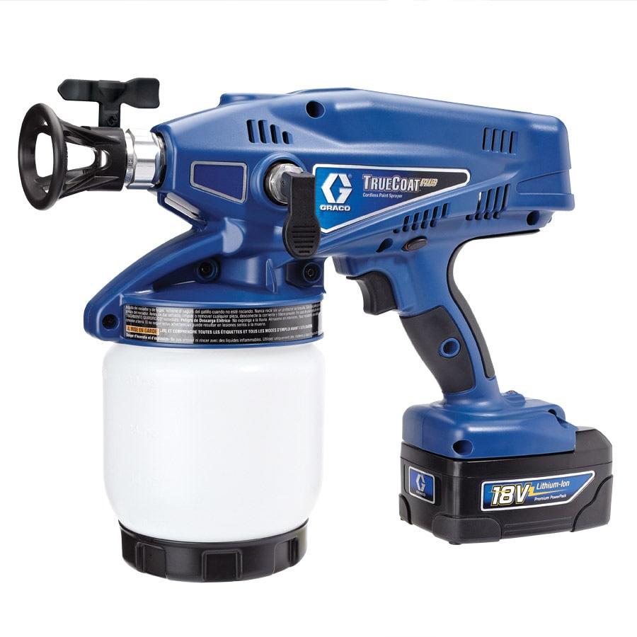 Graco TrueCoat Plus Cordless Airless Handheld Paint Sprayer