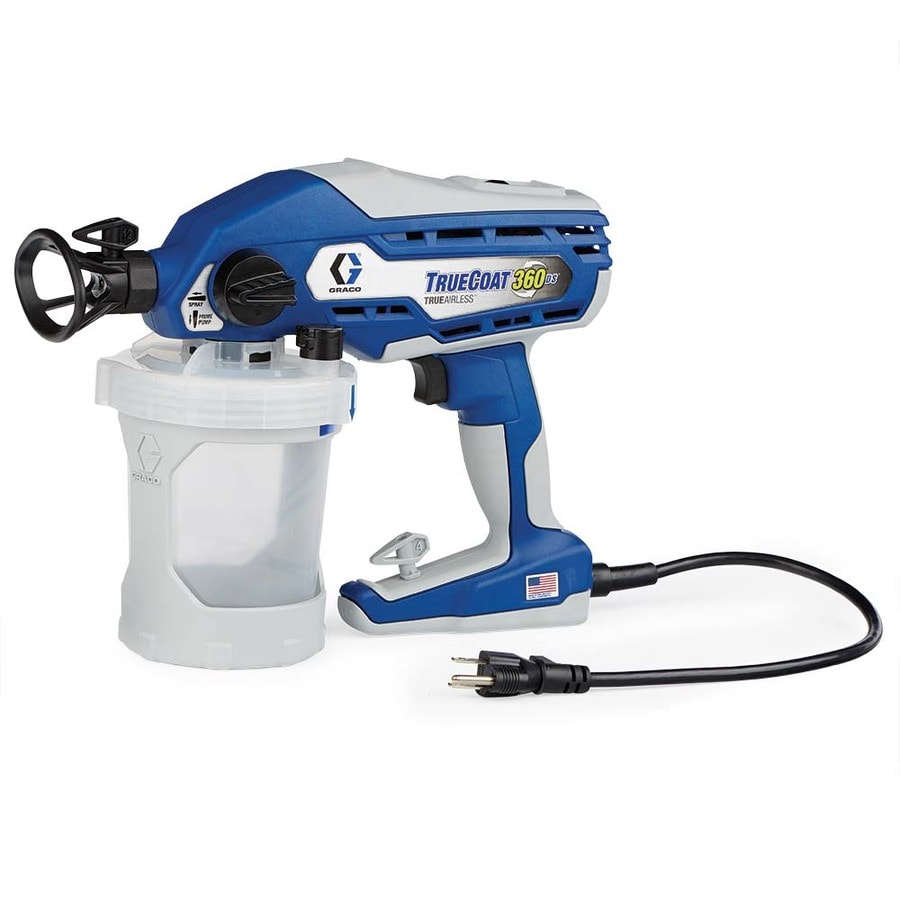 Shop graco truecoat 360ds electric handheld airless paint for Air or airless paint sprayer