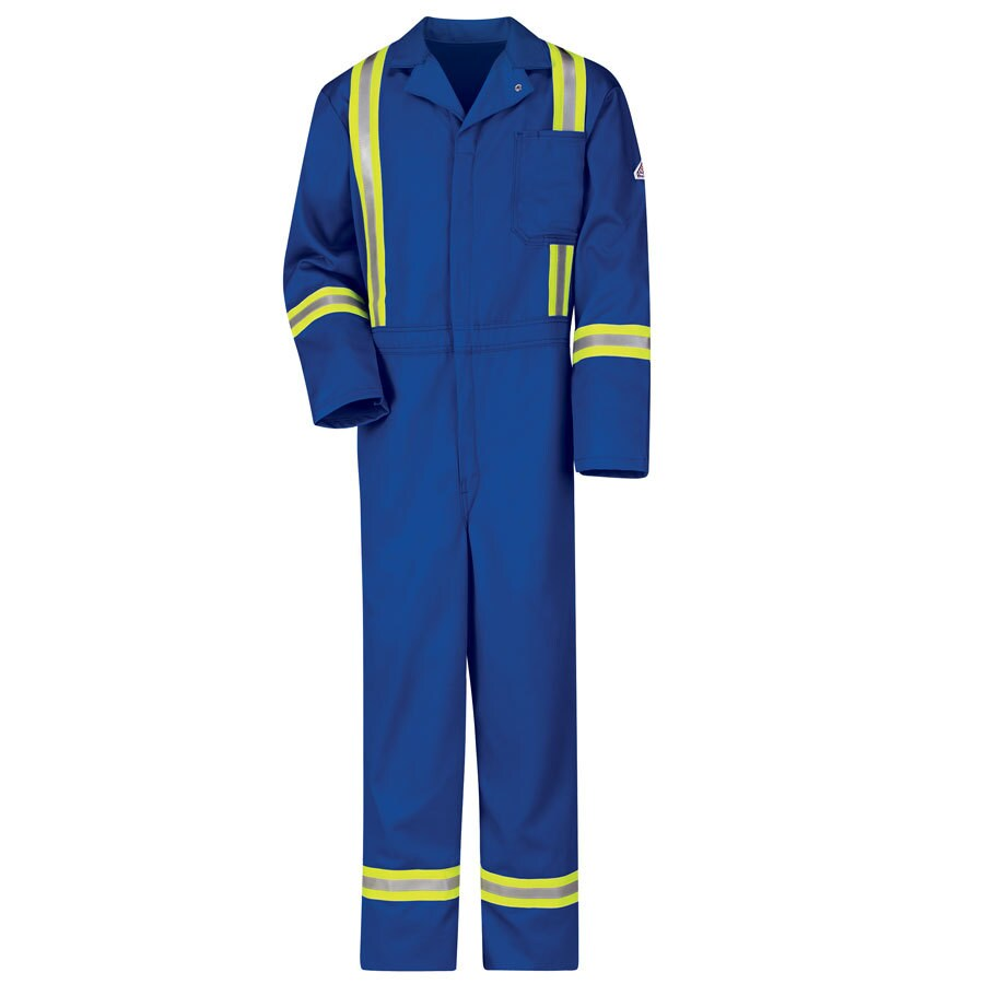 Bulwark 44 Men's Royal Blue Long Coveralls