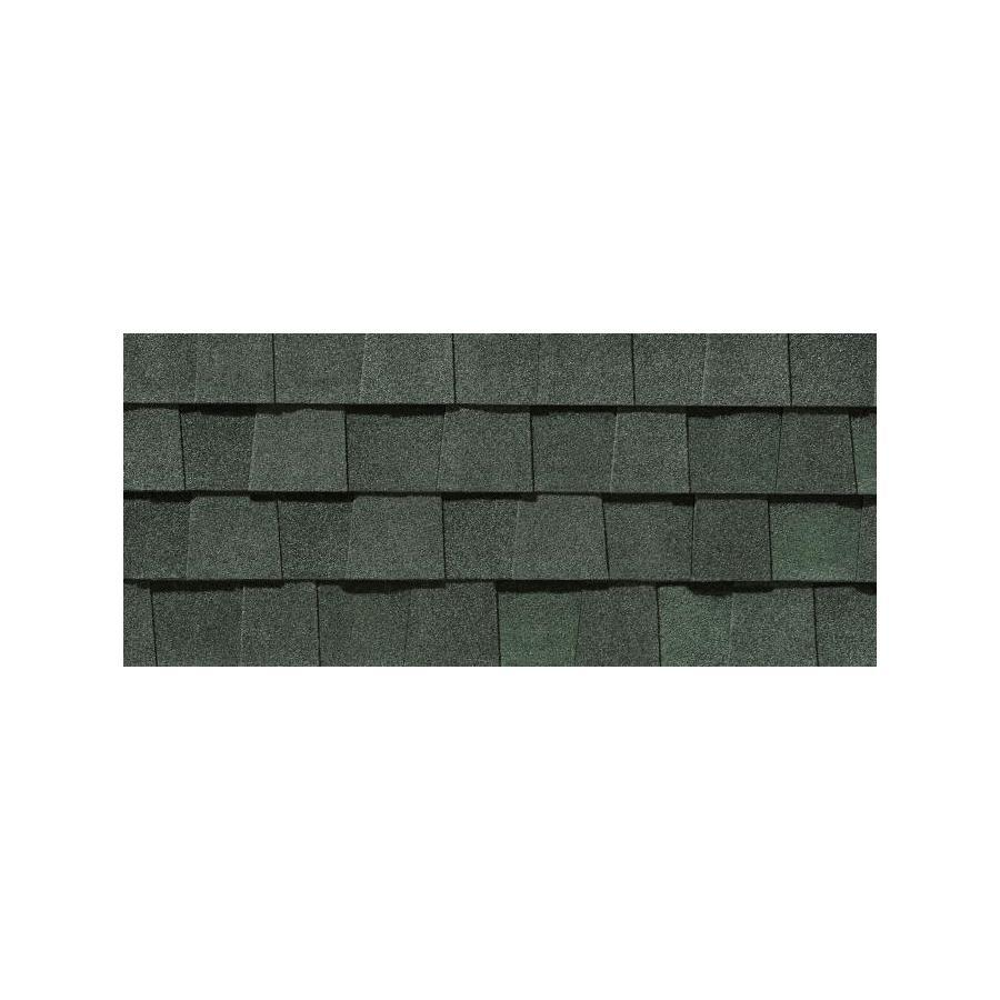 Shop CertainTeed Limited Lifetime Landmark AR Hunter Green Laminate – Laminated Asphalt Roofing Shingles