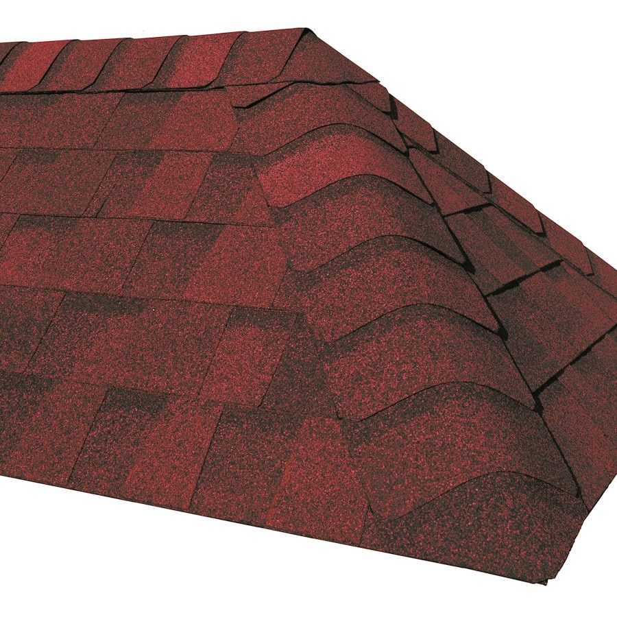 CertainTeed Cottage Red Roof Shingles
