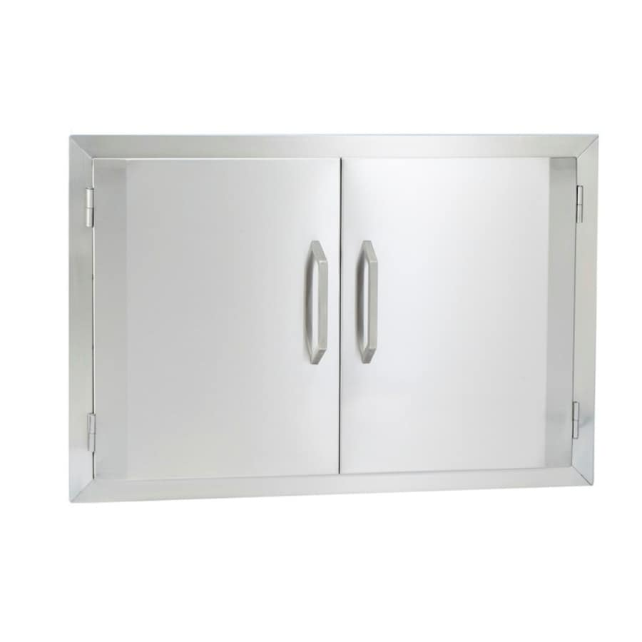 Bullet Built-In Grill Cabinet Double Doors