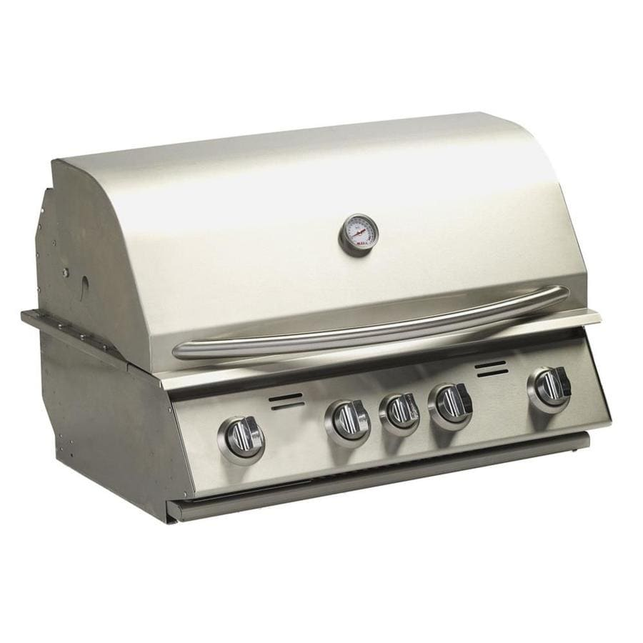Bullet 4-Burner Built-In Natural Gas Grill
